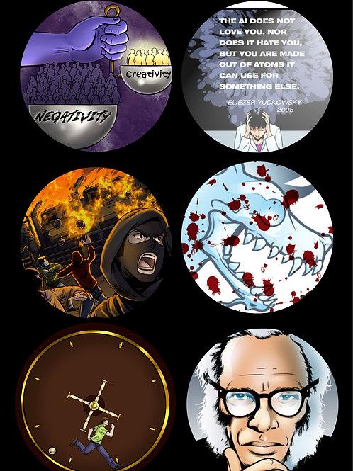 Death Ingloria Sticker Page