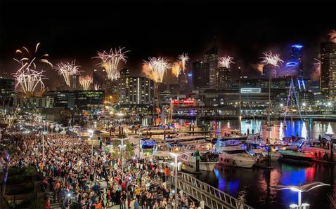 Australia Day Celebrations at Docklands