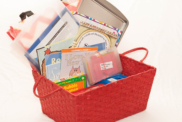 Pre-K and Kindergarten Early Literacy Kit- Large