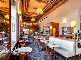 """We love Prague Interiors"" - Café Savoy"