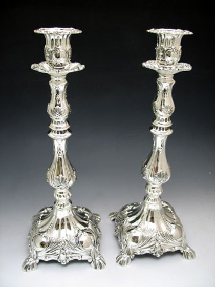Candlestick Silver Plated