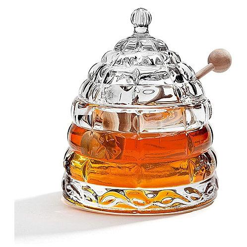 Crystal Rosh Hashanah Honey Jar