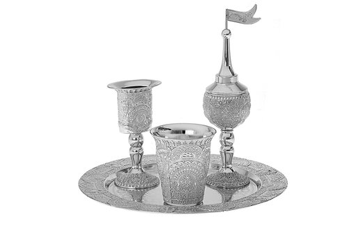 Havdalah Set Silver plated
