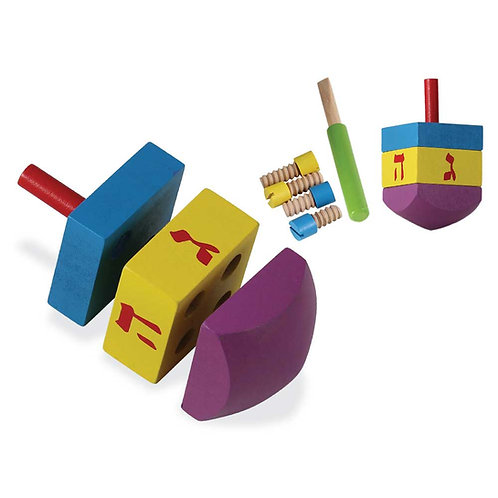 Do-It-Yourself Wood Dreidel with Wood Tools