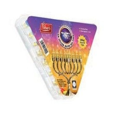 GEL Oil Chanukah Candles Set