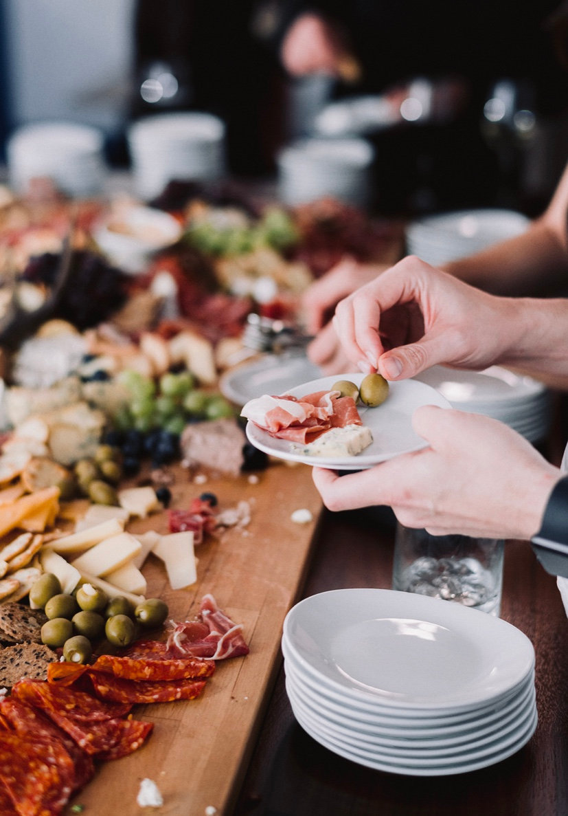 Drop Off Charcuterie + Cheese (Grand)