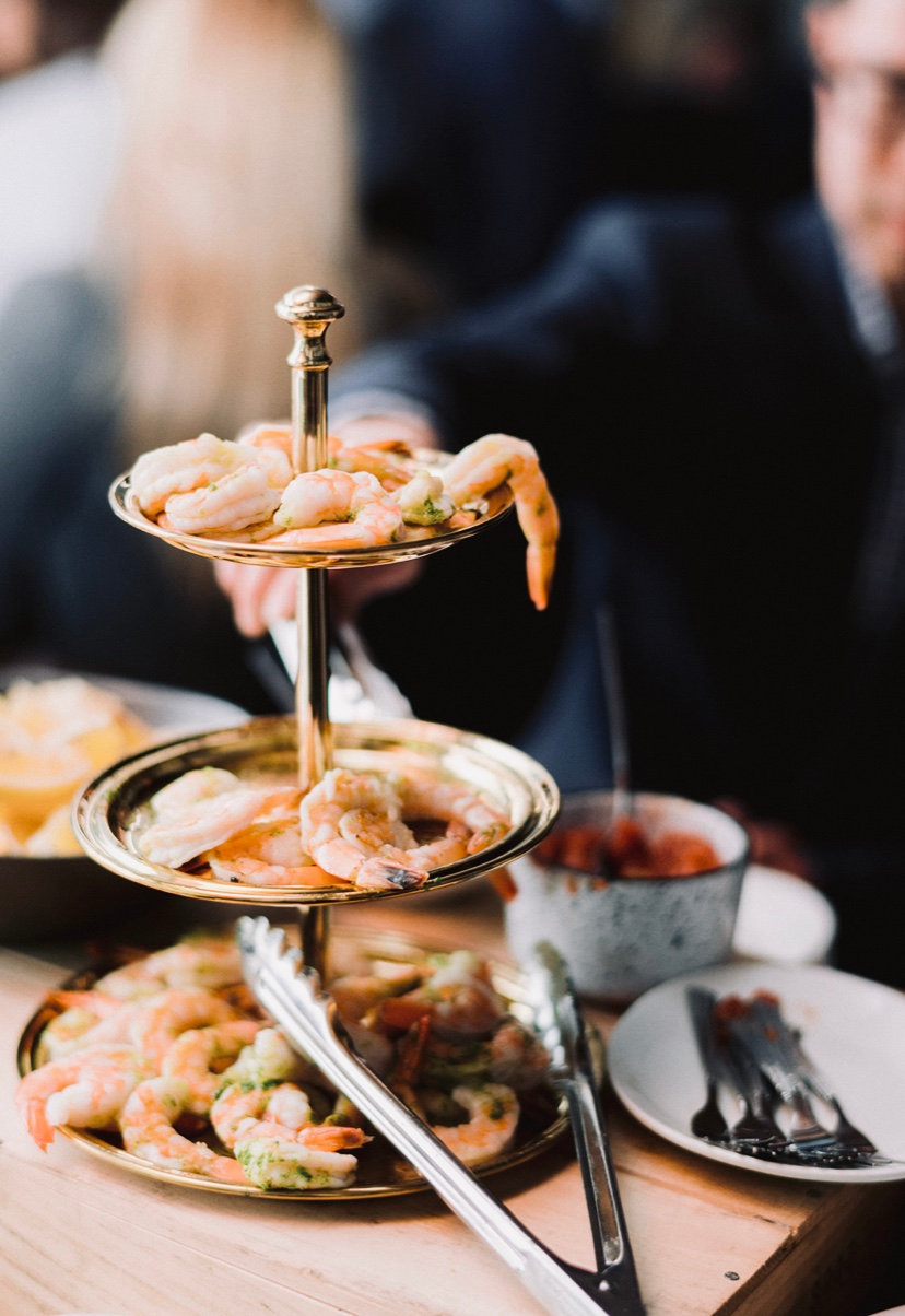 Drop off Oysters and Seafood Tower