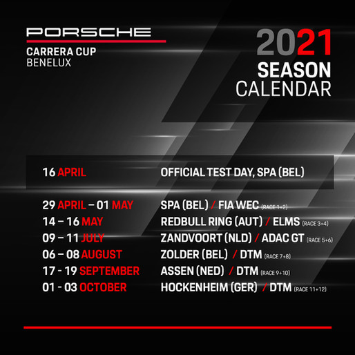 Porsche Carrera Cup Benelux gearing up for best season to date