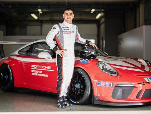 From Porsche Carrera Cup Benelux to official Porsche status for Ayhancan Güven!