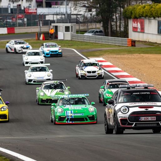 Porsche Sprint Trophy Benelux: promising practice gallop during the Test Day