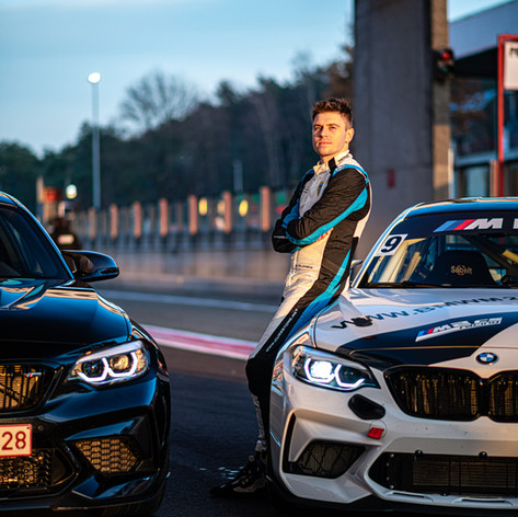 BMW M2 CS Racing Cup Benelux testing (10