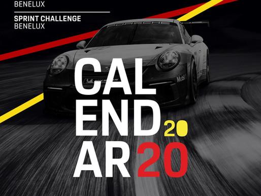 Een nieuwe gemeenschappelijke kalender voor de Porsche Carrera Cup Benelux en de Porsche Sprint Chal