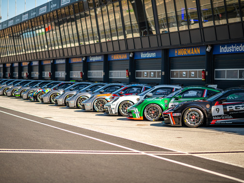 Successful roll-out of the Porsche Carrera Cup Benelux at CM.com Circuit Zandvoort
