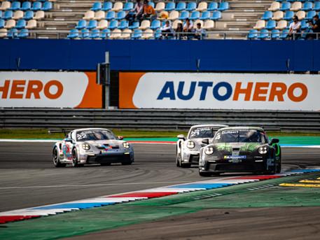 Exciting final for the Porsche Carrera Cup Benelux in Hockenheim