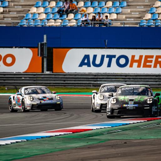 Une finale à suspense pour la Porsche Carrera Cup Benelux à Hockenheim