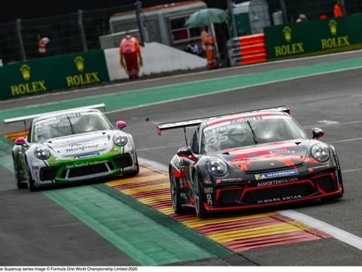 Zes Nederlanders in de punten in Porsche Mobil 1 Supercup op Spa-Francorchamps