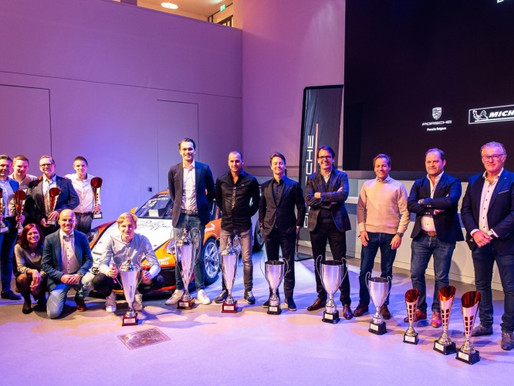 Champions Porsche Carrera Cup Benelux honoured