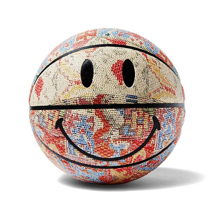 SMILEY PATCHWORK BASKETBALL