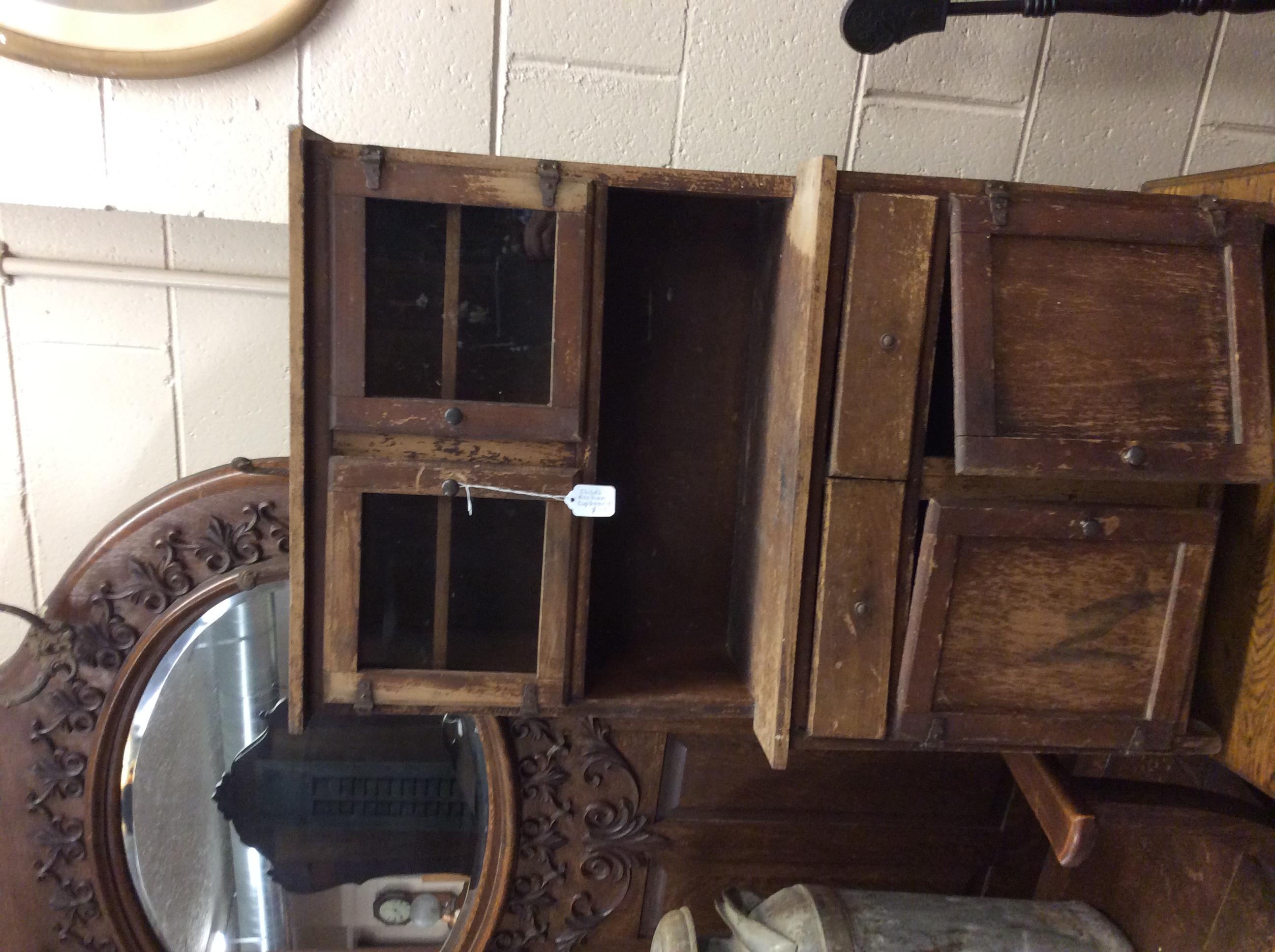 Child's Kitchen Cabinet