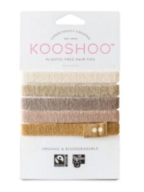 Kooshoo Hair Ties-Light Hair