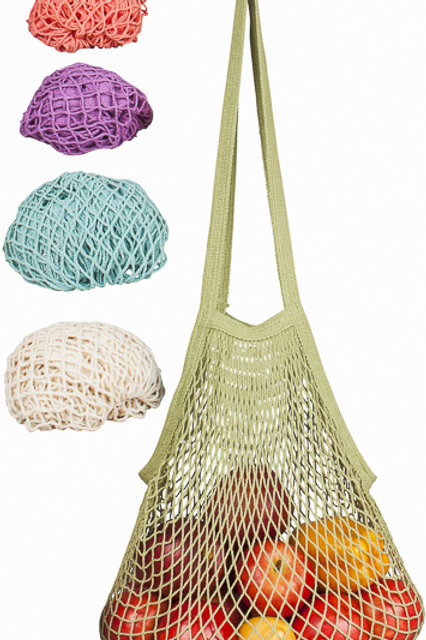 Long Handled String Bag