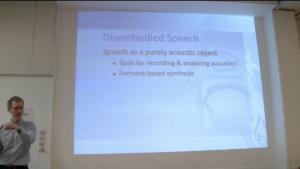 Séminaires vidéos : Brian Gick – «Embodying Speech : A Catalytic Seminar Series»