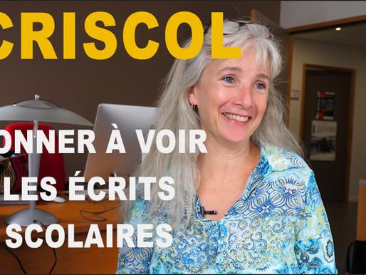 Focus sur Ecriscol : un corpus unique d'écrits scolaires