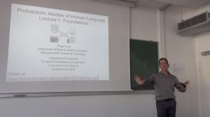 Roger Levy (MIT) : «Probabilistic Models of Human Language»