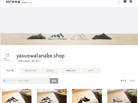 外部サイト(minnne)へShopからのリンク先を追加しました。