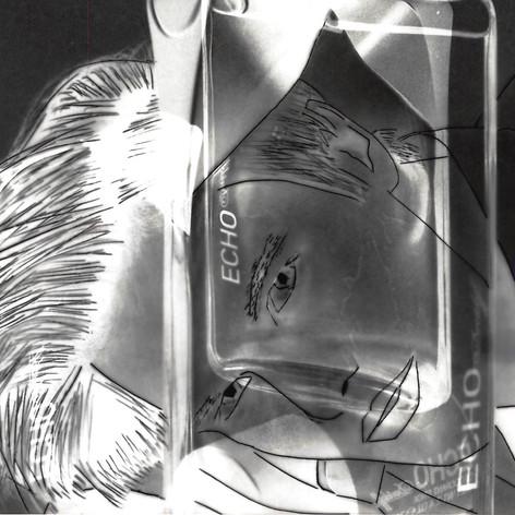 Abstract Darkroom Print