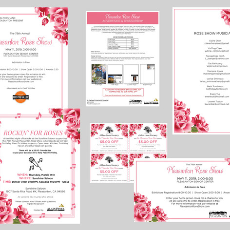 The Pleasasnton Rose Show Marketing Suite