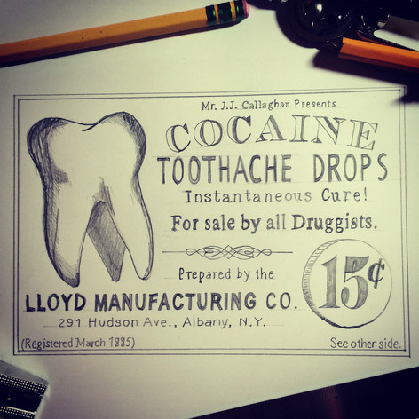 Toothache Drops Advertisments
