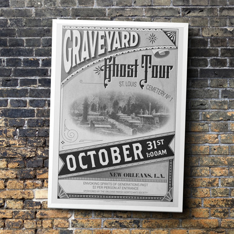 Ghost Tour Poster