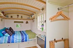 Mill Farm Shepherds Hut inside