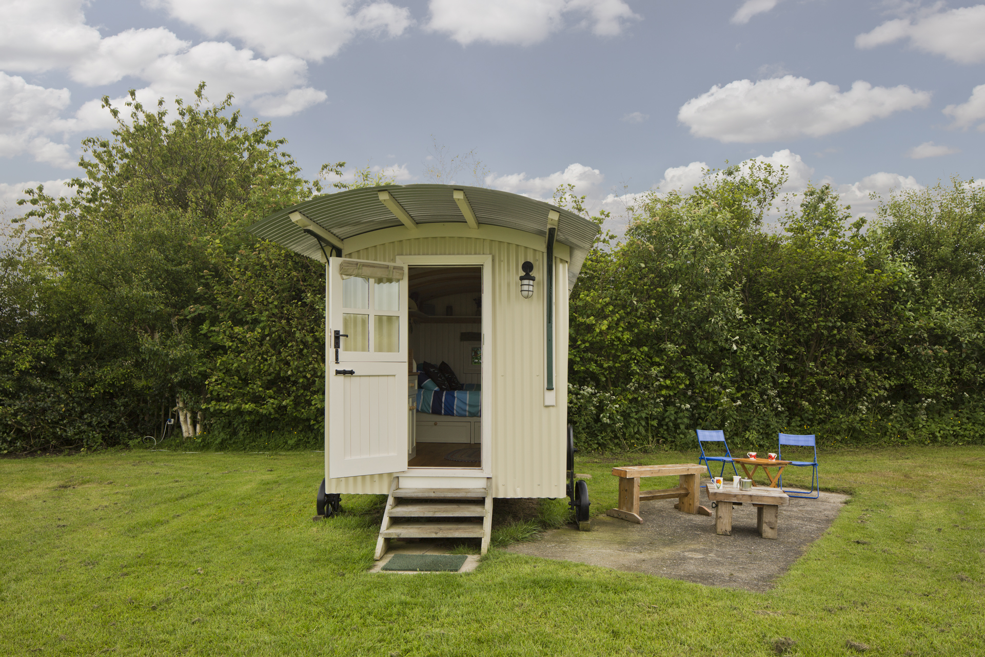 Mill Farm Shepherds Hut.