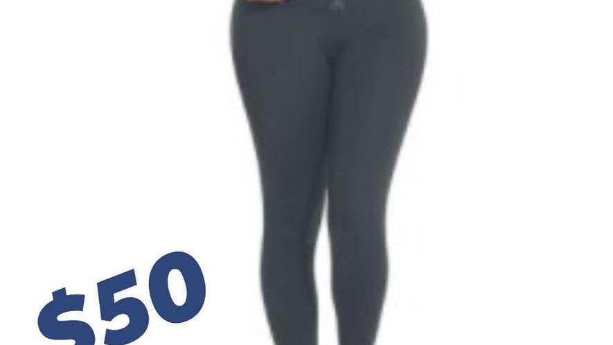 XLarge Black Waist Trainer Leggings