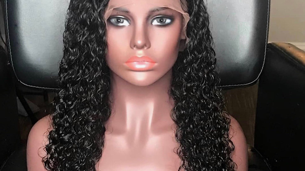 "22"" Deepwave Lace Frontal Wig"