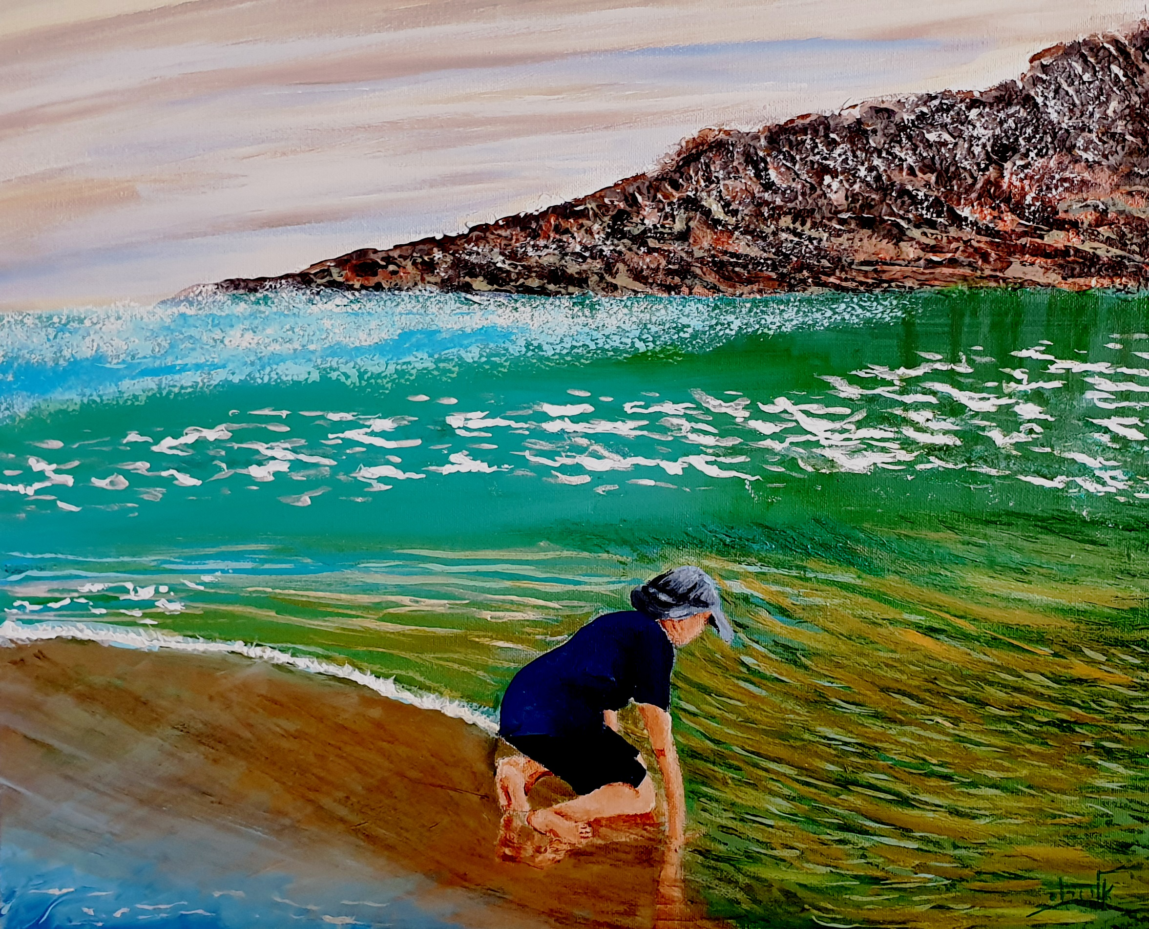 Shallow waters  (2) - Acrylic