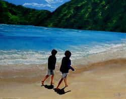על חוף הים של עולמות אינסופיים נפגשים יל