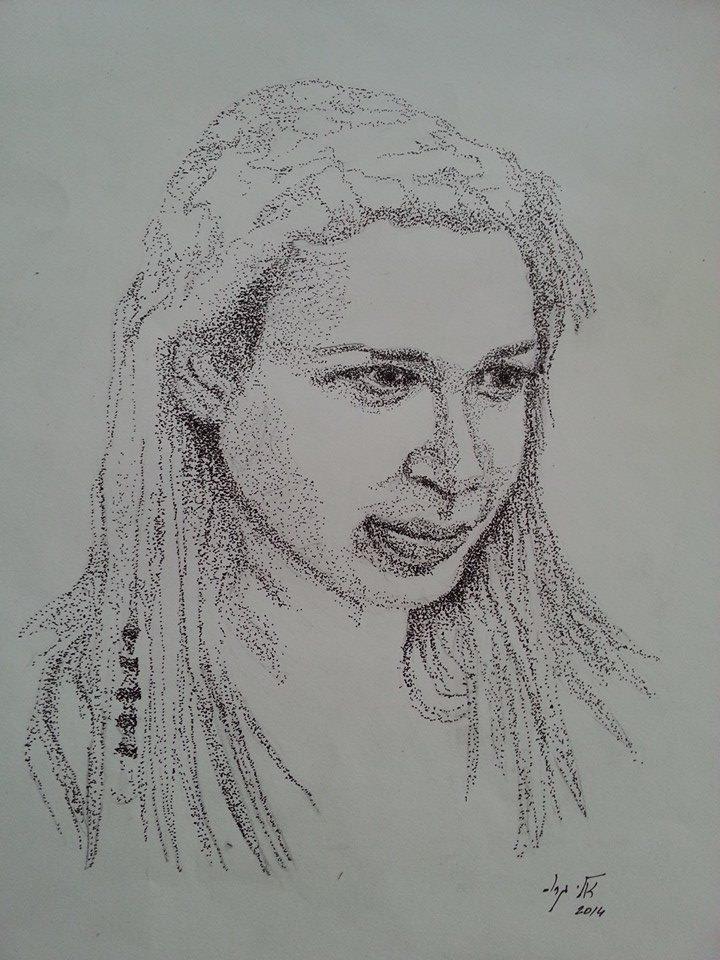 אסנת - עפרון