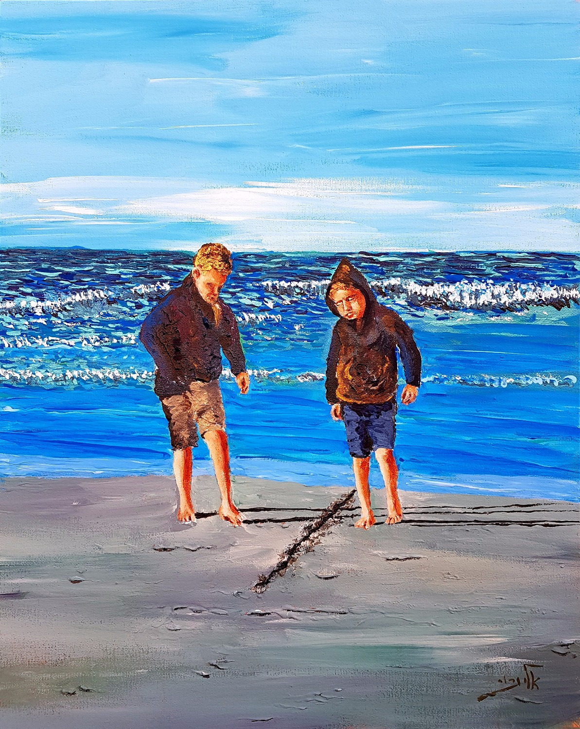 It's about time one of us drew a line in the sand. Better hope the tide will take the line away_edit