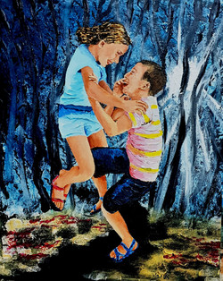 Children of the nature - Acrylic