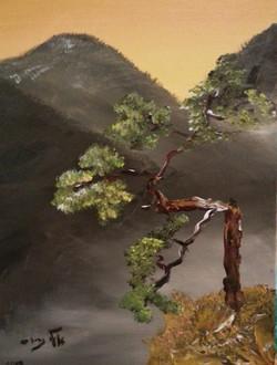 Alone - Acrylic