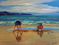 On the seashore of endless worlds children meet - 3