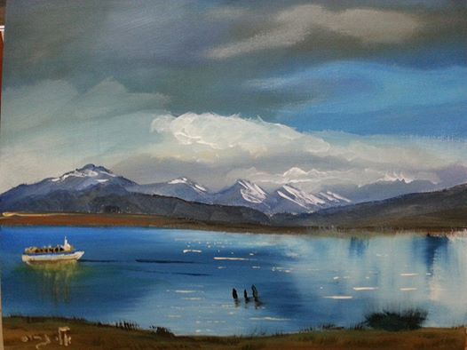Punta Arenas - Acrylic