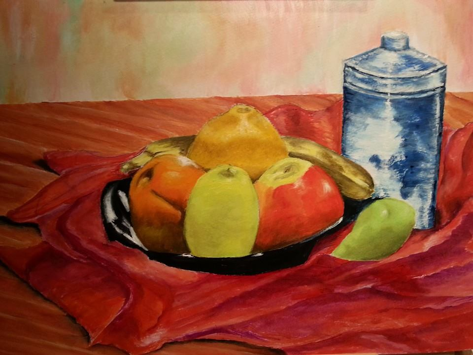 Still life 2 - Oil - Copy