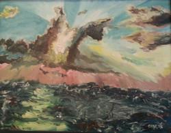 Draems - oil - 1968 95 73 cm