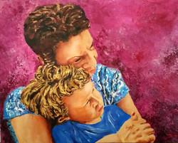 Grandma's hugs are made of love