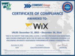 WIX security certificate