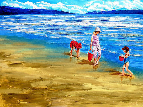 Children have their play on the seashore of worlds  (3)